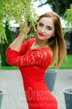 Anastasiya from Lutsk 24 years - eyes with love. My small public photo.