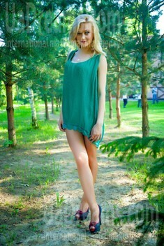 Lana from Lutsk 24 years - look for a man. My small public photo.