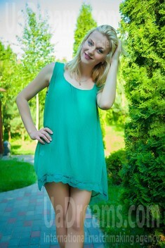 Lana from Lutsk 24 years - waiting for husband. My small public photo.
