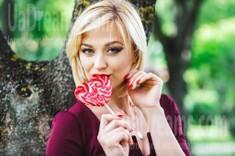 Lana from Lutsk 24 years - good mood. My small public photo.
