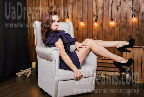 Anastasia from Cherkasy 32 years - girl for marriage. My small public photo.