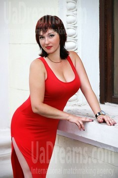 Anna from Zaporozhye 32 years - future wife. My small public photo.