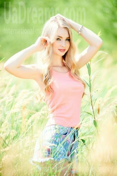 Vira from Ivanofrankovsk 21 years - searching life partner. My small public photo.