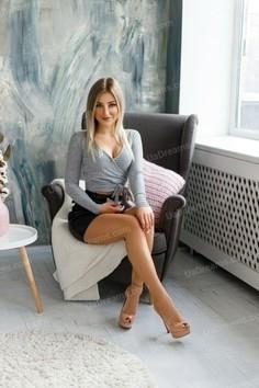 Katya Ivano-Frankovsk 22 y.o. - intelligent lady - small public photo.
