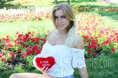 Alyona Odessa 32 y.o. - intelligent lady - small public photo.