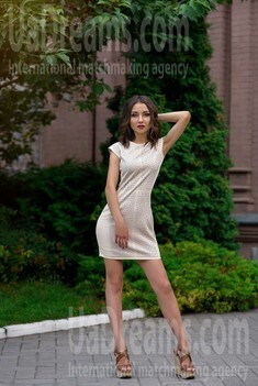 Alina from Dnipro 22 years - bright smile. My small public photo.