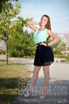 Julia from Zaporozhye 25 years - smiling for you. My small public photo.