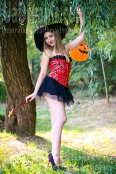 Julia from Zaporozhye 25 years - bride for you. My small public photo.
