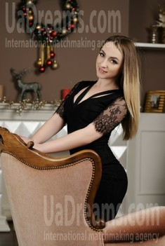 Julia from Zaporozhye 26 years - sunny smile. My small public photo.