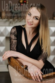 Julia from Zaporozhye 25 years - favorite dress. My small public photo.