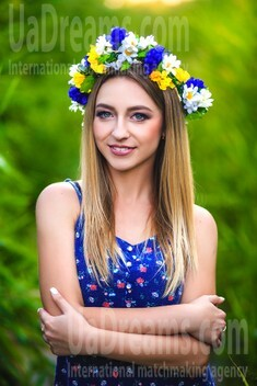 Julia from Zaporozhye 27 years - future wife. My small public photo.