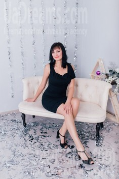 Alla from Cherkasy 44 years - Music-lover girl. My small public photo.