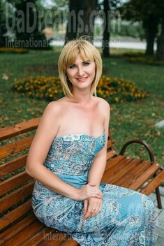 Oksana from Sumy 35 years - look for a man. My small public photo.
