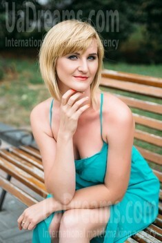 Oksana from Sumy 35 years - girl for marriage. My small public photo.