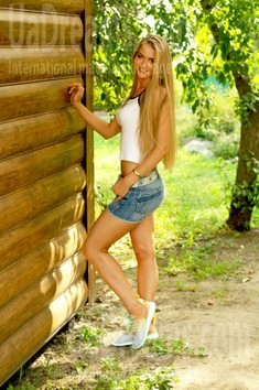 Valentina from Cherkasy 23 years - eyes with love. My small public photo.