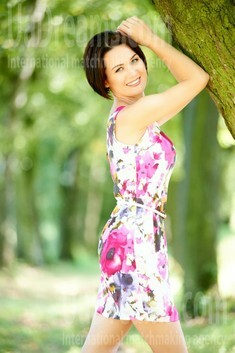 Galina from Ivanofrankovsk 37 years - Warm-hearted girl. My small public photo.