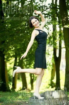 Galina from Ivanofrankovsk 37 years - creative image. My small public photo.