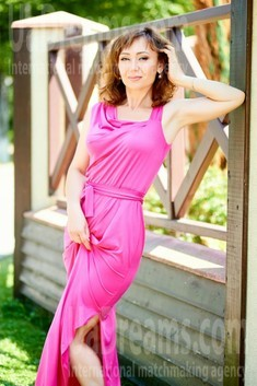 Zoryana from Ivano-Frankovsk 41 years - waiting for husband. My small public photo.