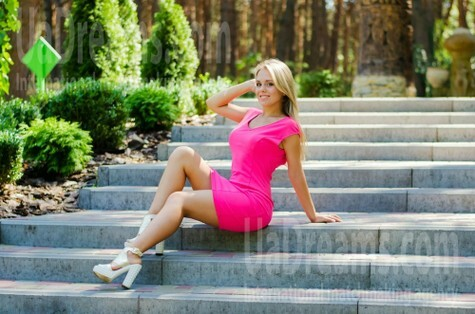 Arina from Cherkasy 19 years - waiting for husband. My small public photo.