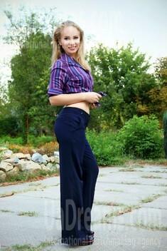 Irina from Zaporozhye 27 years - waiting for husband. My small public photo.