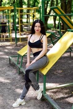 Olga 30 years - eyes lakes. My small public photo.