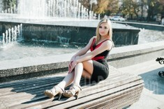 Lily from Cherkasy 19 years - attentive lady. My small public photo.