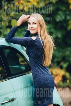 Anna from Poltava 20 years - mysterious beauty. My small public photo.