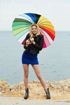 Alena from Odessa 25 years - seeking soulmate. My small public photo.