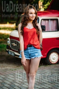 Daria from Poltava 21 years - attractive lady. My small public photo.