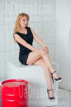 Valentina from Cherkasy 38 years - searching life partner. My small public photo.