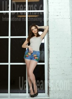 Lubov from Kiev 21 years - charm and softness. My small public photo.