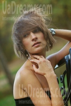 Olga from Zaporozhye 35 years - kind russian girl. My small public photo.