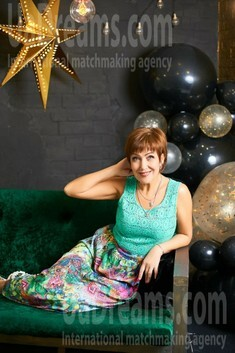 Irina from Ivanofrankovsk 52 years - Kind-hearted woman. My small public photo.