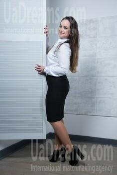 Yulya from Ivanofrankovsk 28 years - Warm-hearted girl. My small public photo.