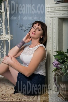 Ksenia from Sumy 51 years - girl for marriage. My small public photo.