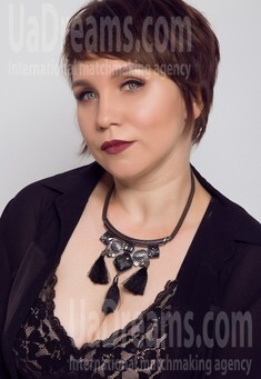Olesia from Ivanofrankovsk 39 years - girl for marriage. My small public photo.