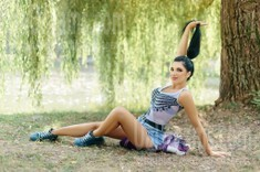 Olia from Ivanofrankovsk 24 years - Kind-hearted woman. My small public photo.
