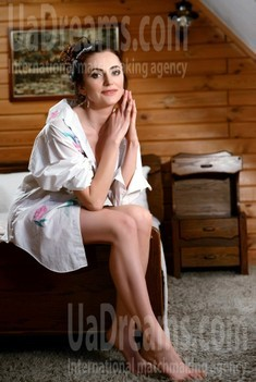 Oksana from Rovno 40 years - independent woman. My small public photo.