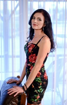 Oksana 42 years - bright smile. My small public photo.