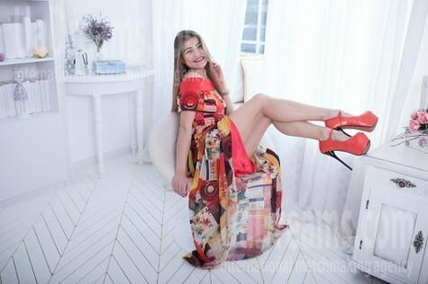 Nina from Cherkasy 24 years - seeking soulmate. My small public photo.