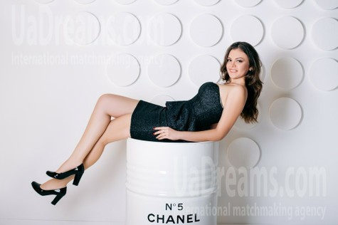 Julia from Cherkasy 19 years - charm and softness. My small public photo.