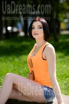 Anna from Rovno 24 years - girl for marriage. My small public photo.
