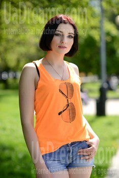 Anna from Rovno 24 years - attractive lady. My small public photo.