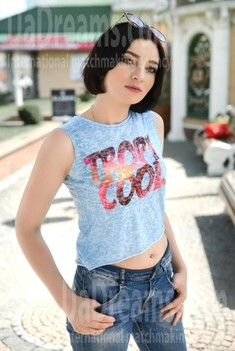 Anna from Rovno 24 years - nice fiancee. My small public photo.