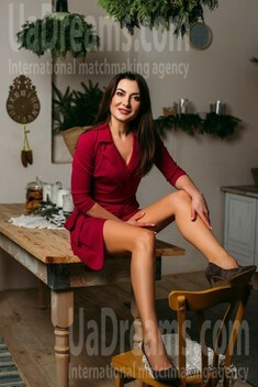 Nadia from Sumy 35 years - Warm-hearted girl. My small public photo.
