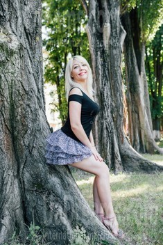 Ruslana from Cherkasy 44 years - creative image. My small public photo.