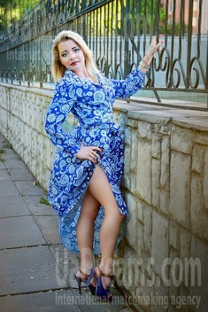 Lesya from Zaporozhye 27 years - girl for marriage. My small public photo.