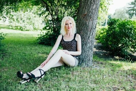 Ira from Cherkasy 34 years - romantic girl. My small public photo.