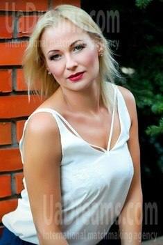 Elena from Zaporozhye 39 years - sunny smile. My small public photo.