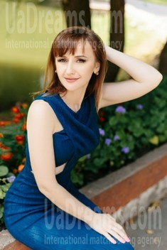 Olesia from Ivanofrankovsk 28 years - eyes lakes. My small public photo.